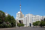 Stock Photo of gosprom administrative complex in kharkiv, ukraine