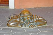 Stock Photo of Funny sculpture in bratislava