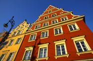 Stock Photo of Market square in Wroclaw city, Poland