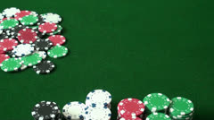 Rolling Craps Stock Footage