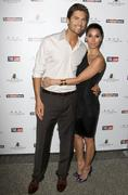 Eric winter and roselyn sanchez.the hollywood reporter's philanthropist of th Kuvituskuvat