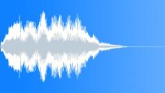 Futuro slow stinger - sound effect