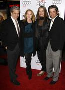 Marg helgenberger with husband alan rosenberg and guest.afi fest 2009 screeni Stock Photos