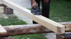 Roof beam Stock Footage