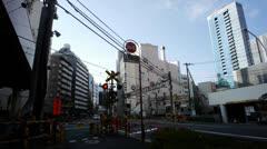Tokyo train pass 1 Stock Footage