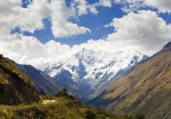 In the andes Stock Photos