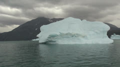 Greenland ice fjord s Stock Footage