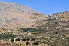 Travel photos of israel - golan heights Stock Photos