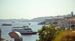Bosphorus Coast Stock Footage