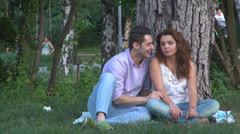 Young lovers, Young romantics,Couple,Embrace Stock Footage