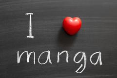 love manga - stock photo