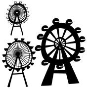 London eye Stock Illustration