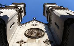 basilica - stock photo
