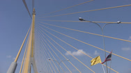 Stock Video Footage of Rama 8th Bridge p240