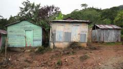 Village shack Stock Footage