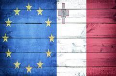 european country malta - stock photo