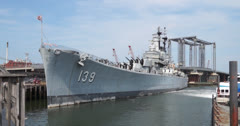 Stock Video Footage of USS Salem - Des Moines-Class Heavy Cruiser