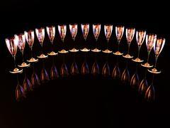 wine cup - stock illustration
