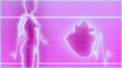 Medical Interface - stock footage