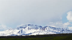 Mountains panorama, time lapse  Stock Footage