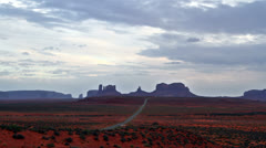 Time lapse of Monument Valley,Utah,USA Stock Footage