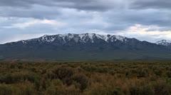 Time lapse of mountain panorama Stock Footage