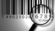 Stock Photo of bar code label
