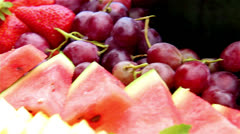 Fruits - stock footage