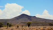 Stock Video Footage of Time Lapse of Mojave National Preserve Daytime