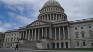 Stock Video Footage of Capital Building Washington DC