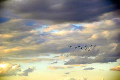 Sky overcast Stock Photos