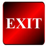 Exit symbol Stock Illustration