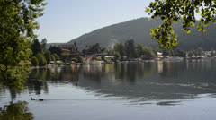 Lake Titisee, Germany, Black Forest Stock Footage