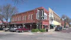 Kansas Dodge City old town  - stock footage