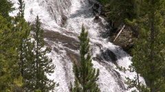 Yellowstone National Park Virginia Cascade 002 06-24-2013 Stock Footage