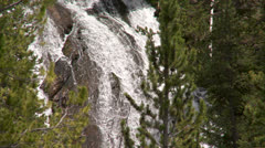 Yellowstone National Park Virginia Cascade 003 06-24-2013 Stock Footage
