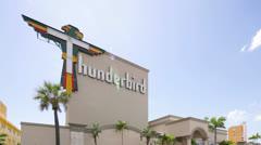 Thunderbird Hotel Stock Footage