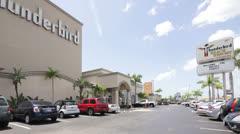 Thunderbird hotel Treasure Island Florida Stock Footage
