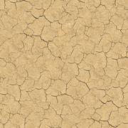 Cracked Soil. Seamless Texture. - stock illustration