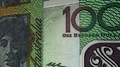 Australian dollar currency value up animation. Stock Footage