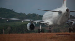 New Plane in Thailand - stock footage