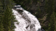 Yellowstone National Park Virginia Cascade 009 06-24-2013 Stock Footage