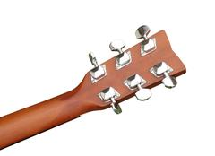 Acoustic classic guitar Stock Photos