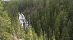 Yellowstone National Park Virginia Cascade 014 06-24-2013 Stock Footage