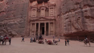 Stock Video Footage of Jordan Petra  Camels