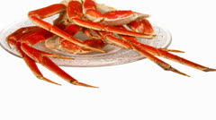 Crab Legs Stock Footage