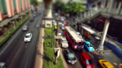 Bangkok road  trafic Stock Footage