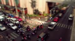 Bangkok road  trafic - stock footage