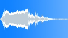Distant city alarm siren ambience loop Sound Effect