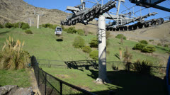 Cable Car Christchurch NZ Stock Footage